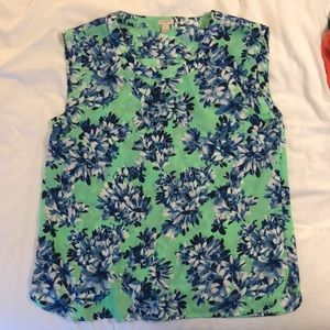JCrew Women's Floral Top